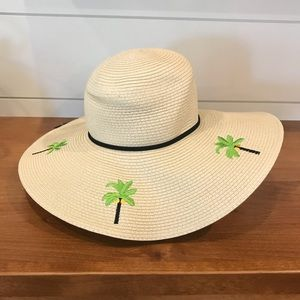 [Marcus Adler] Palm Tree Floppy Beach Hat